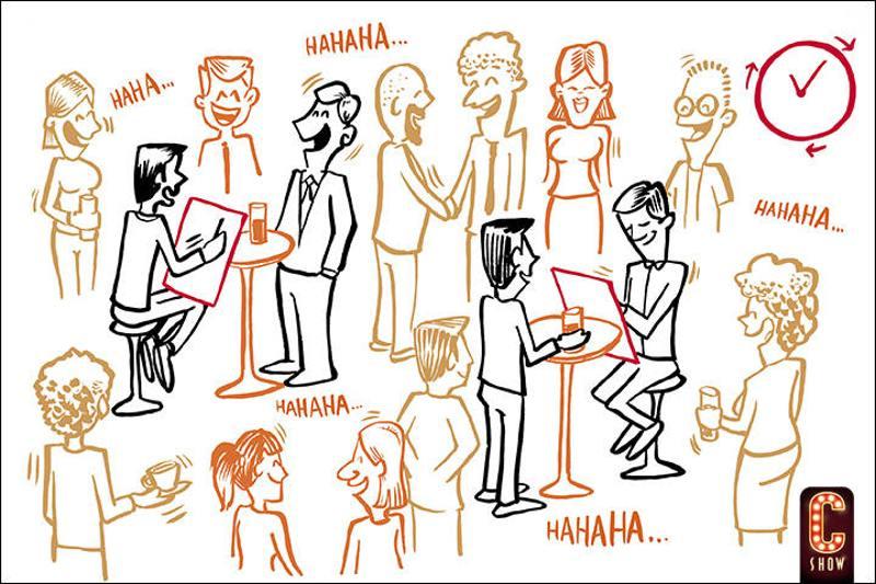caricaturas eventos corporativos
