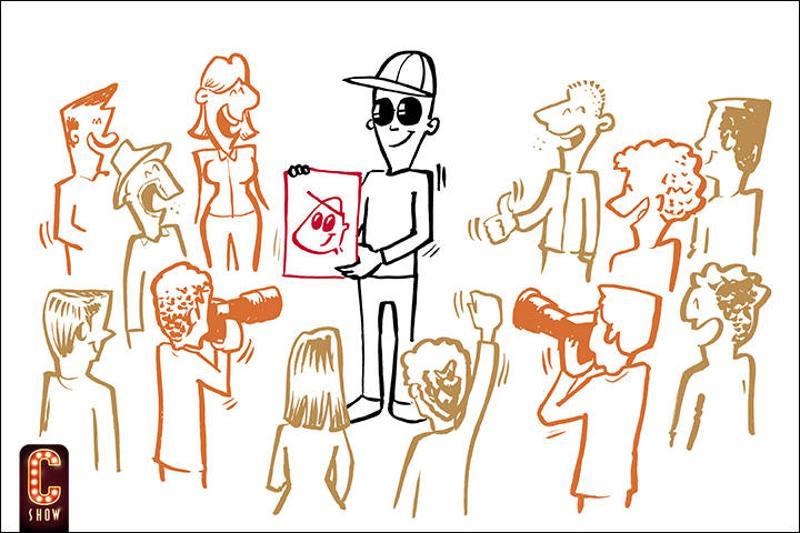 caricaturas en vivo en VIPzone para celebrities y famosos VIP