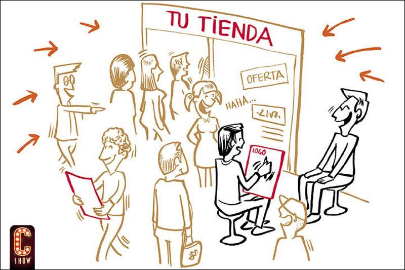 Marketing one to one con caricaturista en vivo