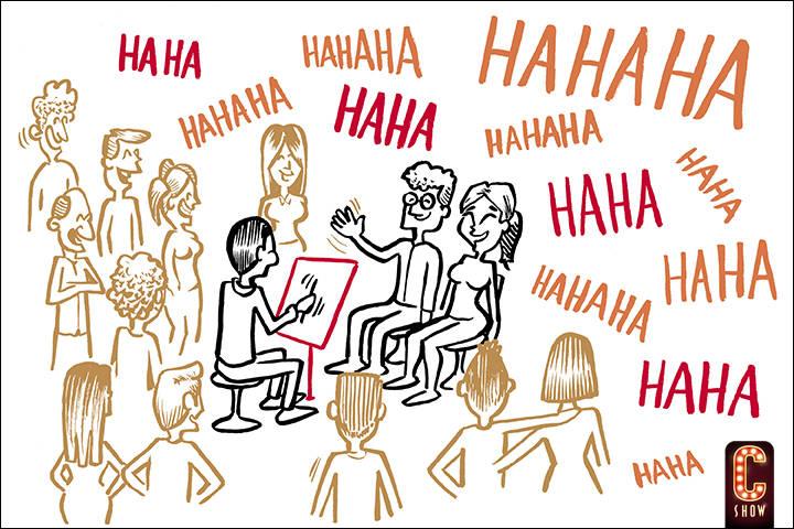 show de caricaturas eventos