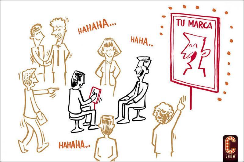 Show de caricatura digital en vivo