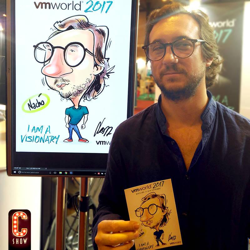 Arte digital y creación en vmWorld Barcelona