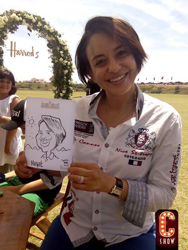 Caricature event