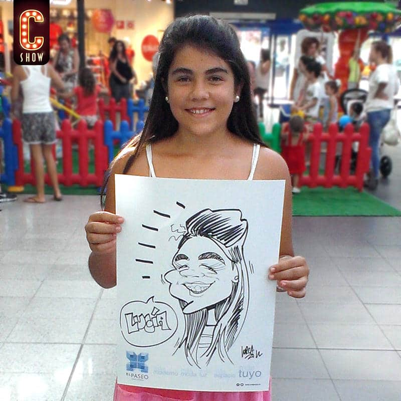 Caricature for kids