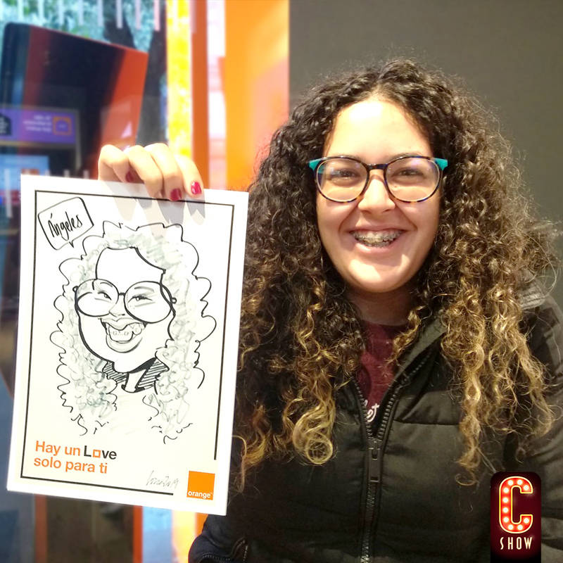 Live caricature event company