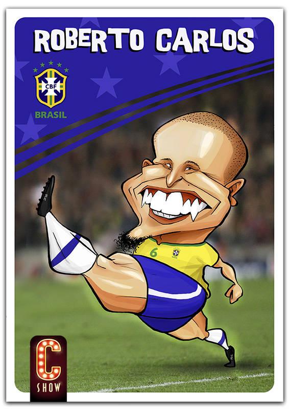 Roberto Carlos caricature