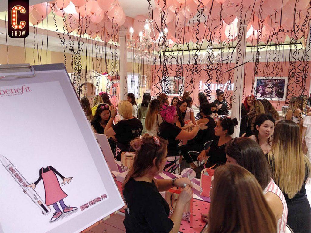 Shopping night art marketing performance