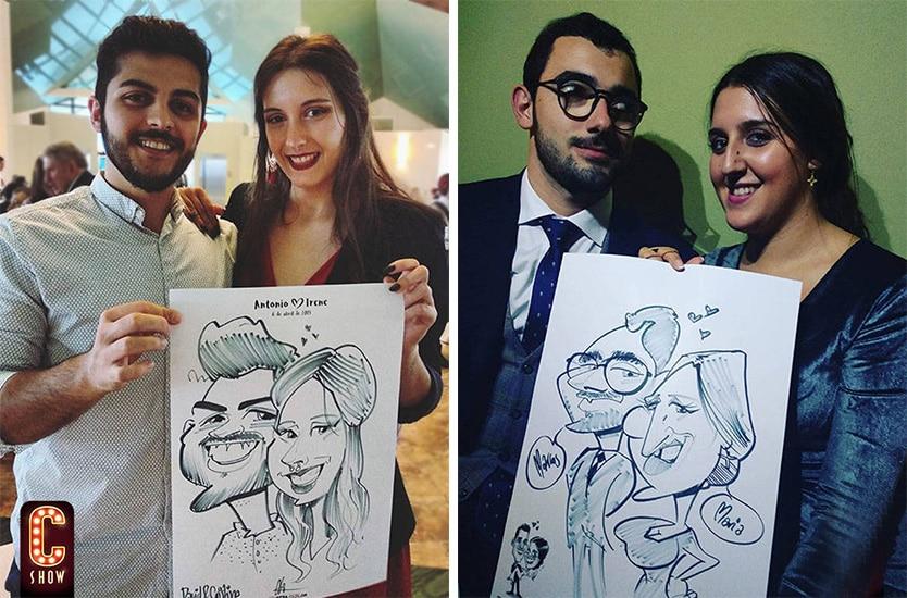 Caricaturista para fiestas