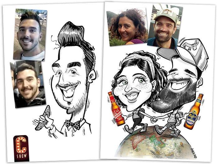 fotos de caricatura