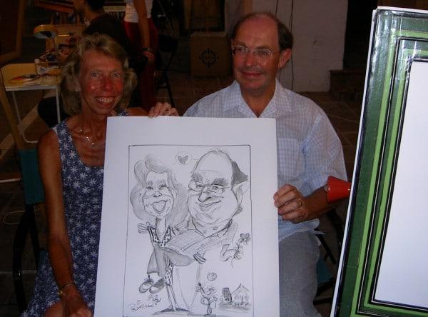 Jorge. Caricaturista